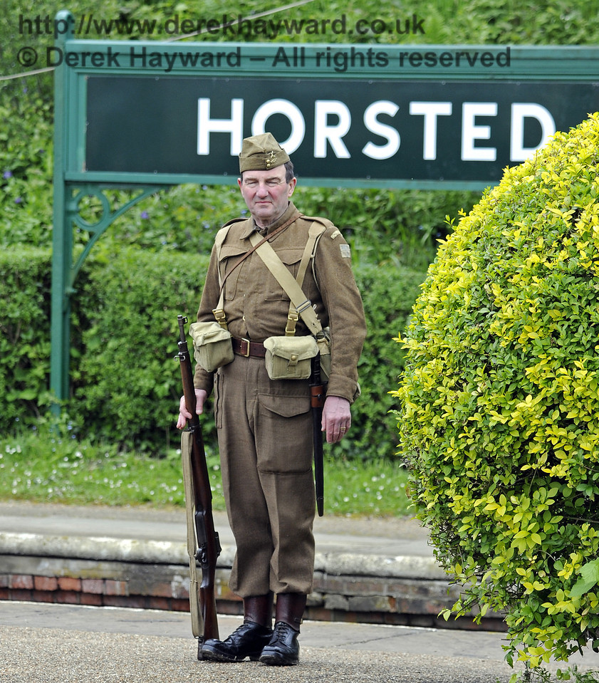 Southern at War, Horsted Keynes, 11.05.2014  9088