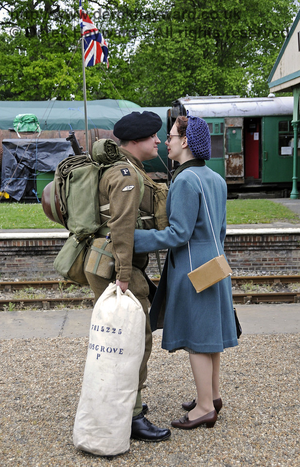 Southern at War, Horsted Keynes, 11.05.2014  10396