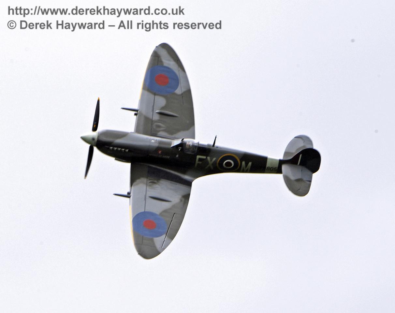1944-built Spitfire HF MkIX, TA 80.  Southern at War, Horsted Keynes, 10.05.2014  8996