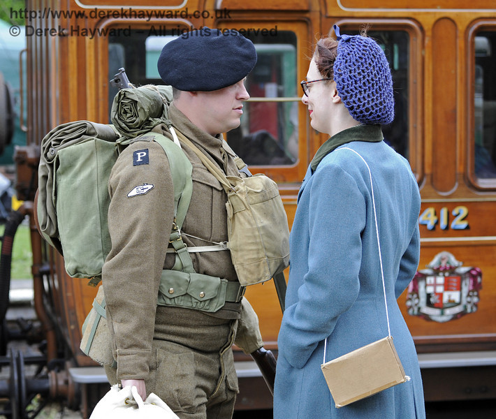 Southern at War, Horsted Keynes, 11.05.2014  9080
