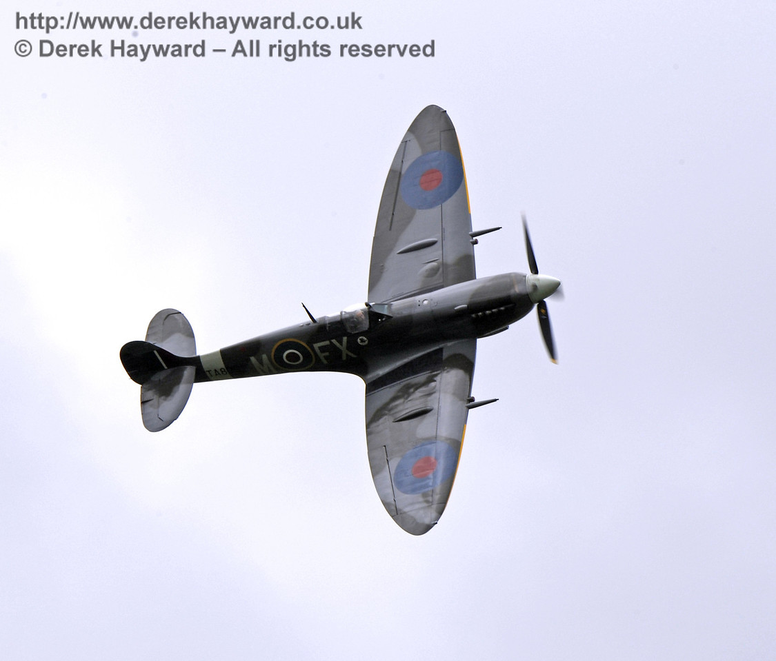 1944-built Spitfire HF MkIX, TA 80.  Southern at War, Horsted Keynes, 10.05.2014  9023