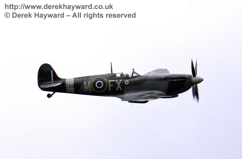 1944-built Spitfire HF MkIX, TA 80.  Southern at War, Horsted Keynes, 10.05.2014  9027