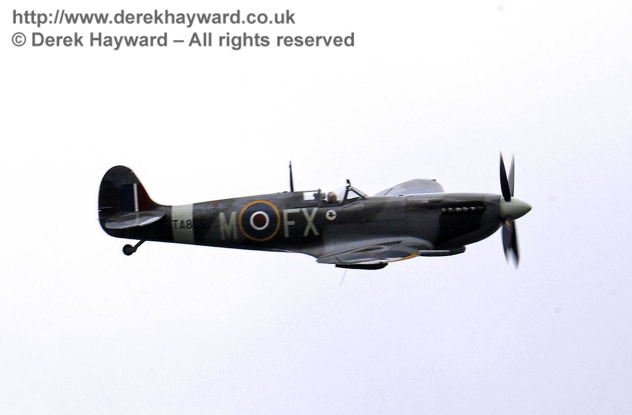 1944-built Spitfire HF MkIX, TA 80.  Southern at War, Horsted Keynes, 10.05.2014  9027