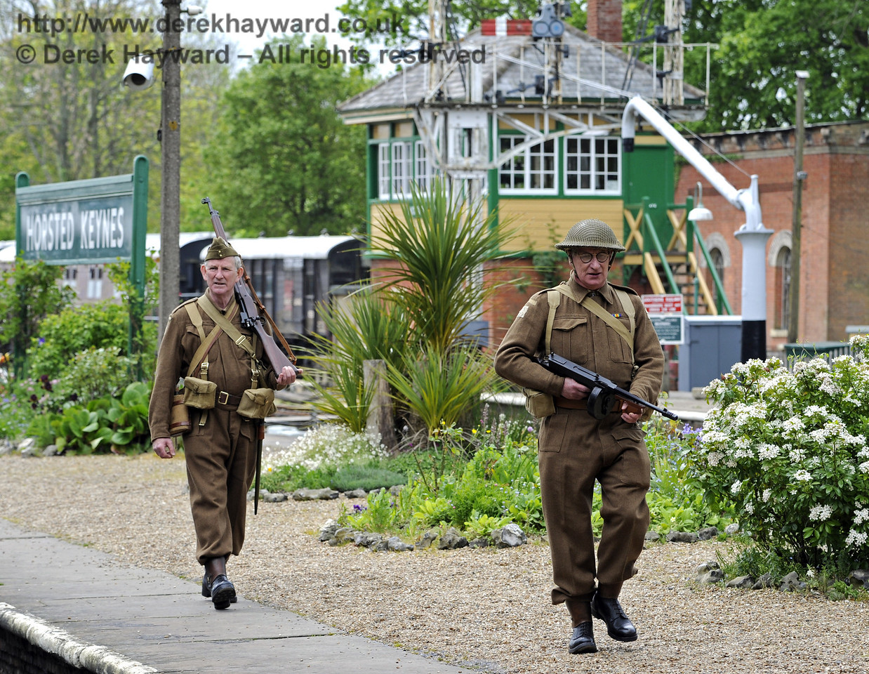 Southern at War, Horsted Keynes, 10.05.2014  8952