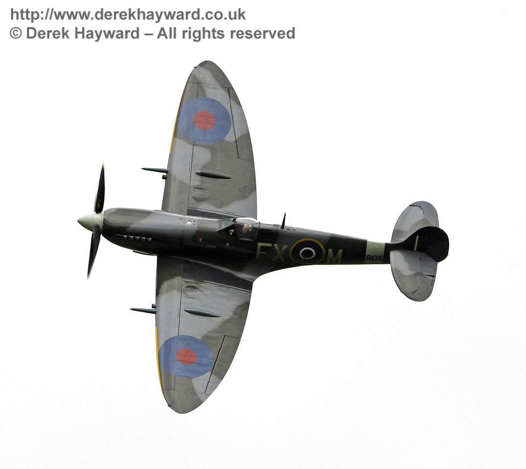 1944-built Spitfire HF MkIX, TA 80.  Southern at War, Horsted Keynes, 10.05.2014  9014