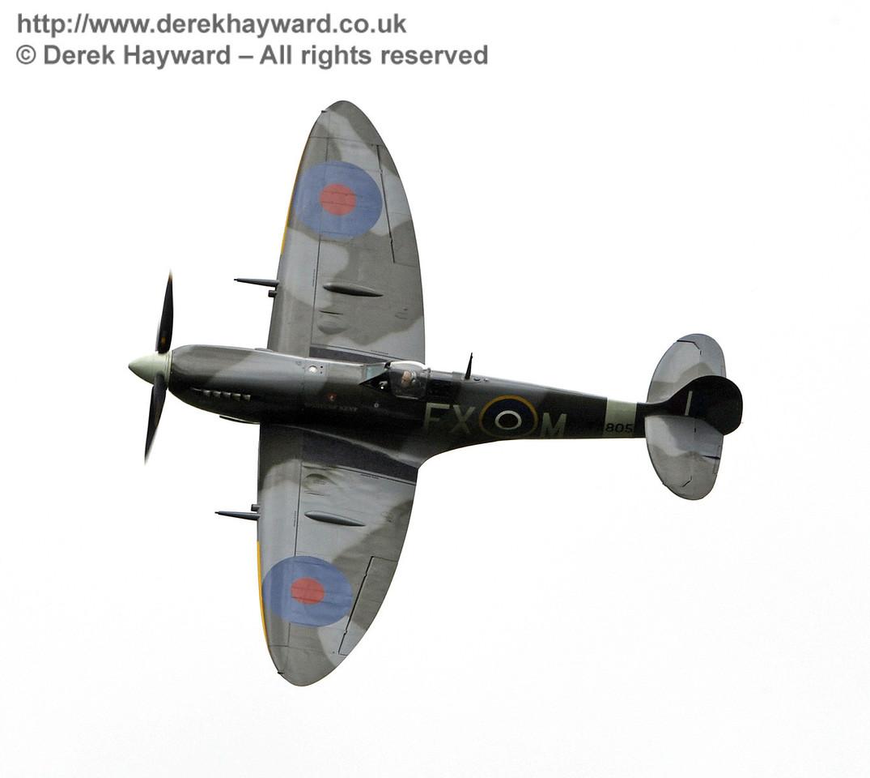 1944-built Spitfire HF MkIX, TA 80.  Southern at War, Horsted Keynes, 10.05.2014  9014