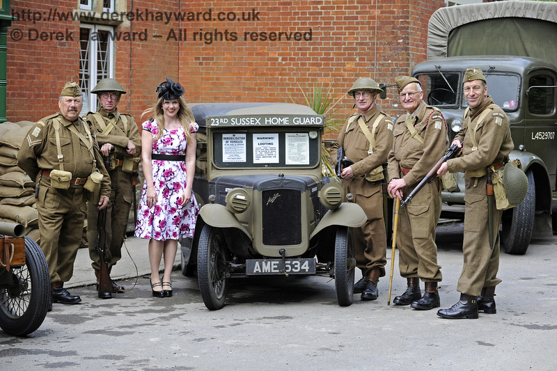 Southern at War, Horsted Keynes, 10.05.2014  8963