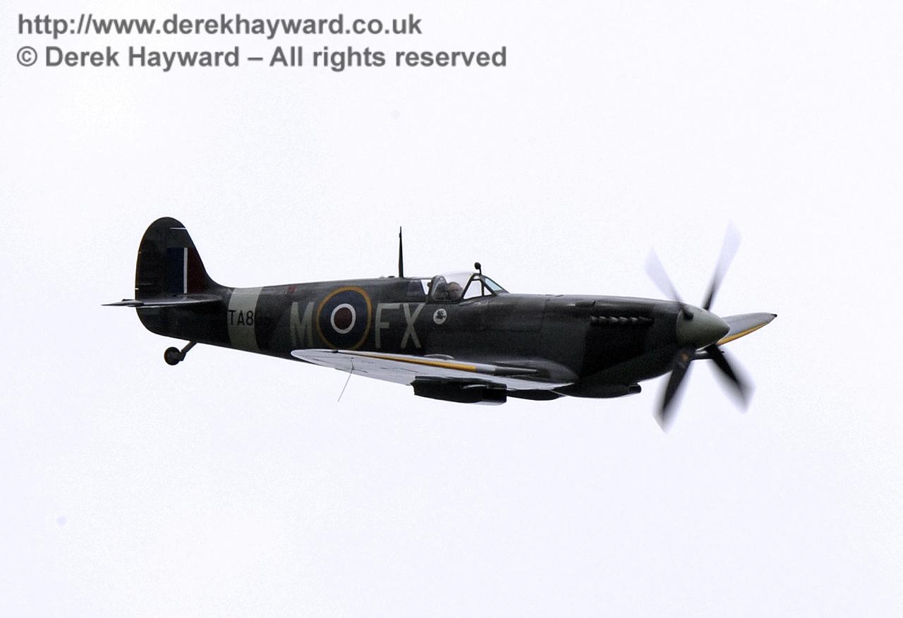 1944-built Spitfire HF MkIX, TA 80.  Southern at War, Horsted Keynes, 10.05.2014  8973