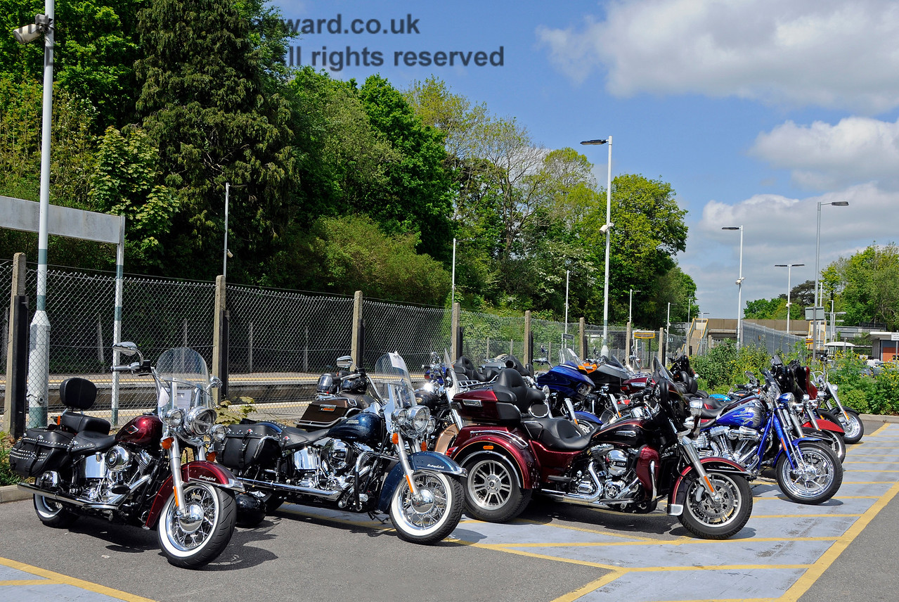 The Harley Davidson Group, Southern at War, East Grinstead, 14.05.2016  15178