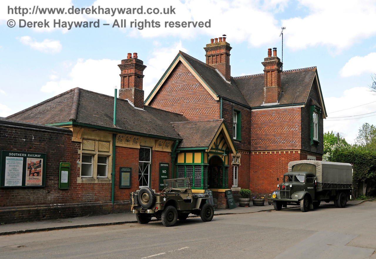 Southern at War, Horsted Keynes, 14.05.2016  15198