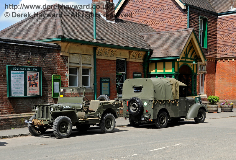 Southern at War, Horsted Keynes, 15.05.2016  15238