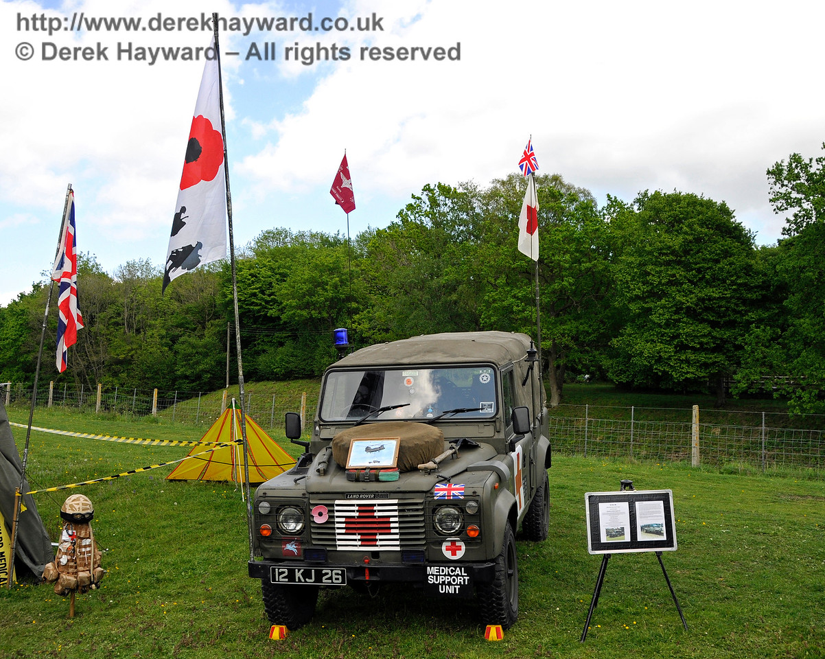 Southern at War, Horsted Keynes, 14.05.2016  15215