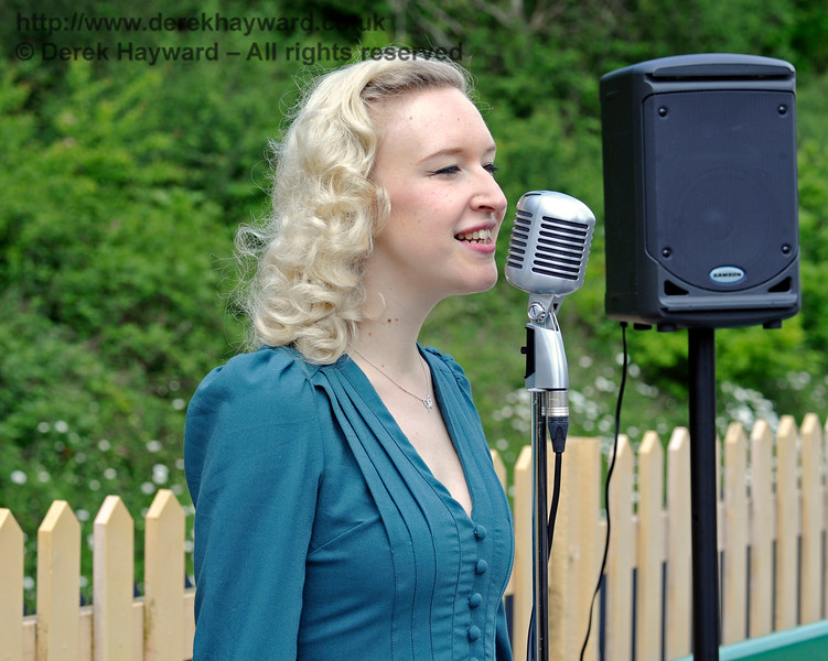 Rose Lancaster, the Vintage Vocalist, Southern at War, East Grinstead, 14.05.2016  13108