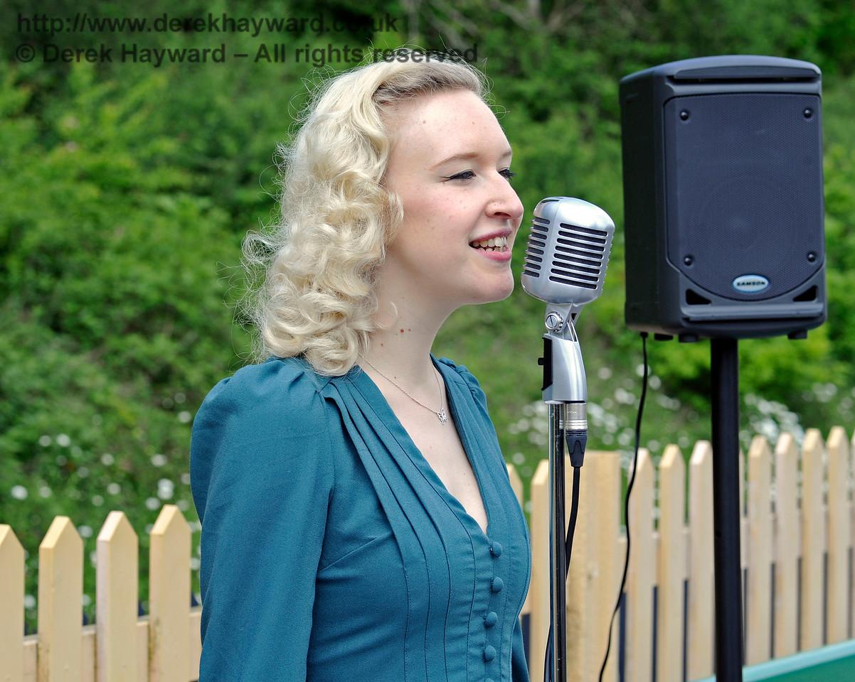 Rose Lancaster, the Vintage Vocalist, Southern at War, East Grinstead, 14.05.2016  13108
