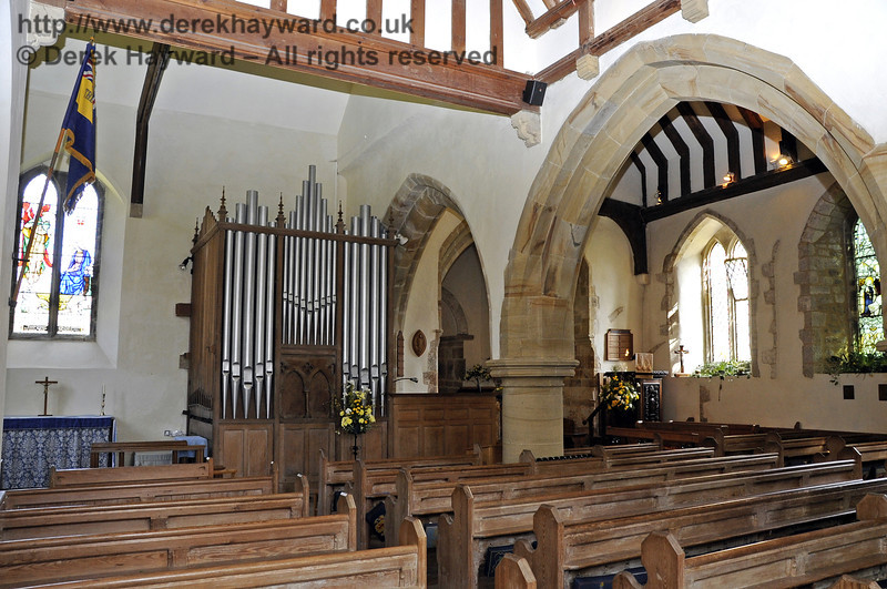 A general view of the interior of St Giles Church, Horsted Keynes, looking south east.  06.04.2013  6660