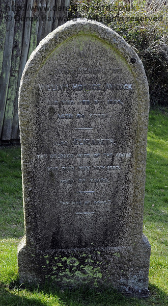 "One of the gravestones relating to the Awcock family in the churchyard:<br /> <br /> ""In Loving Memory of William Horace Awcock, who died February 3rd 1924, aged 64 years.<br /> <br /> Also Elizabeth, the beloved wife of the above, who died May 29th 1927, aged 65 years.<br /> <br /> Thy will be done.""<br /> <br /> St Giles Church, Horsted Keynes 06.04.2013  6582"