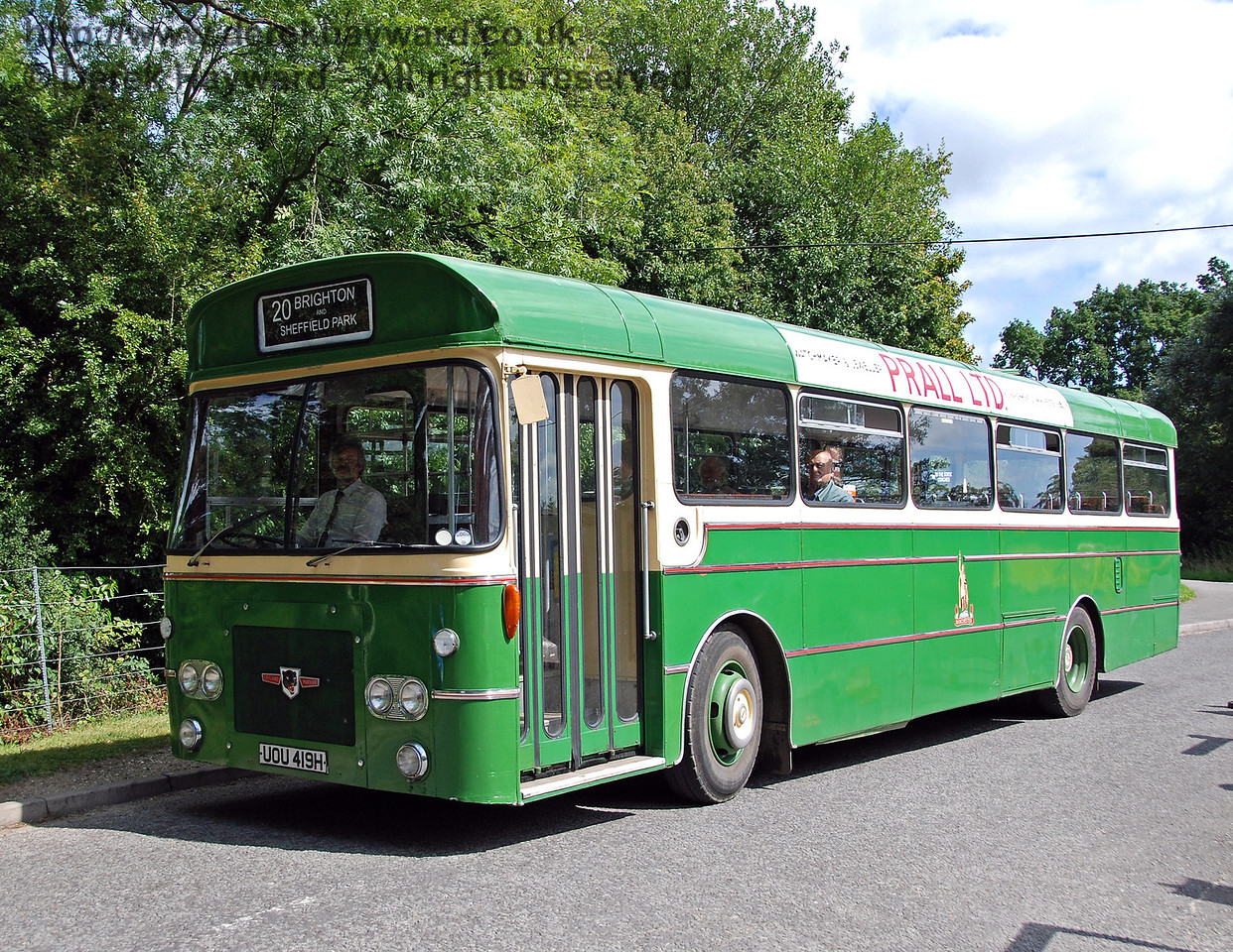 Bus Running Day, Sheffield Park, 16.08.2009