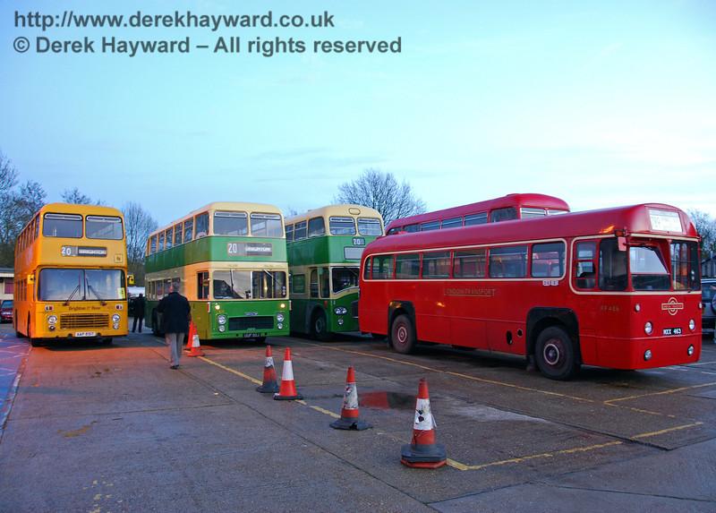 Bus Running Day, Sheffield Park, 15.11.2009