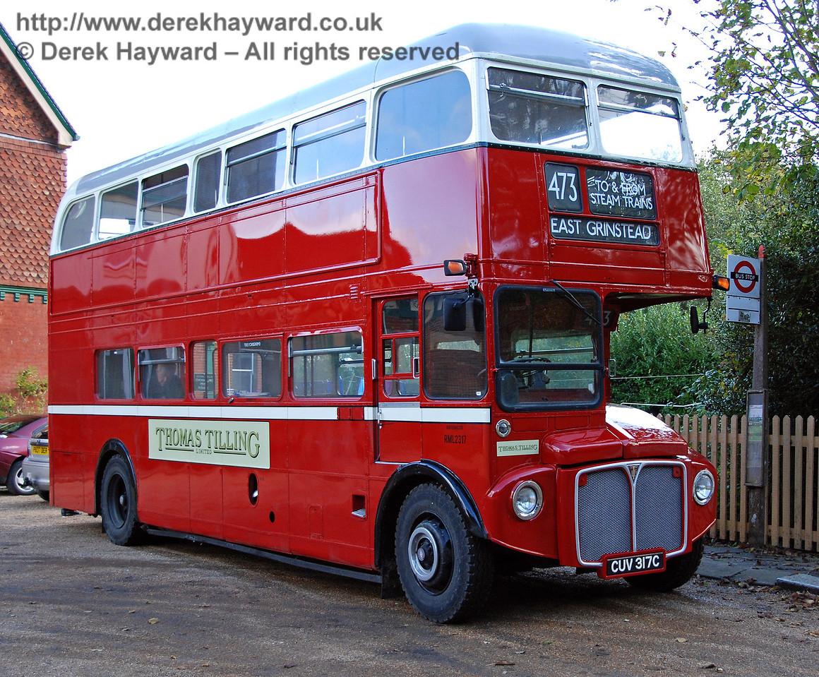RML2317, Kingscote, 25.10.2009