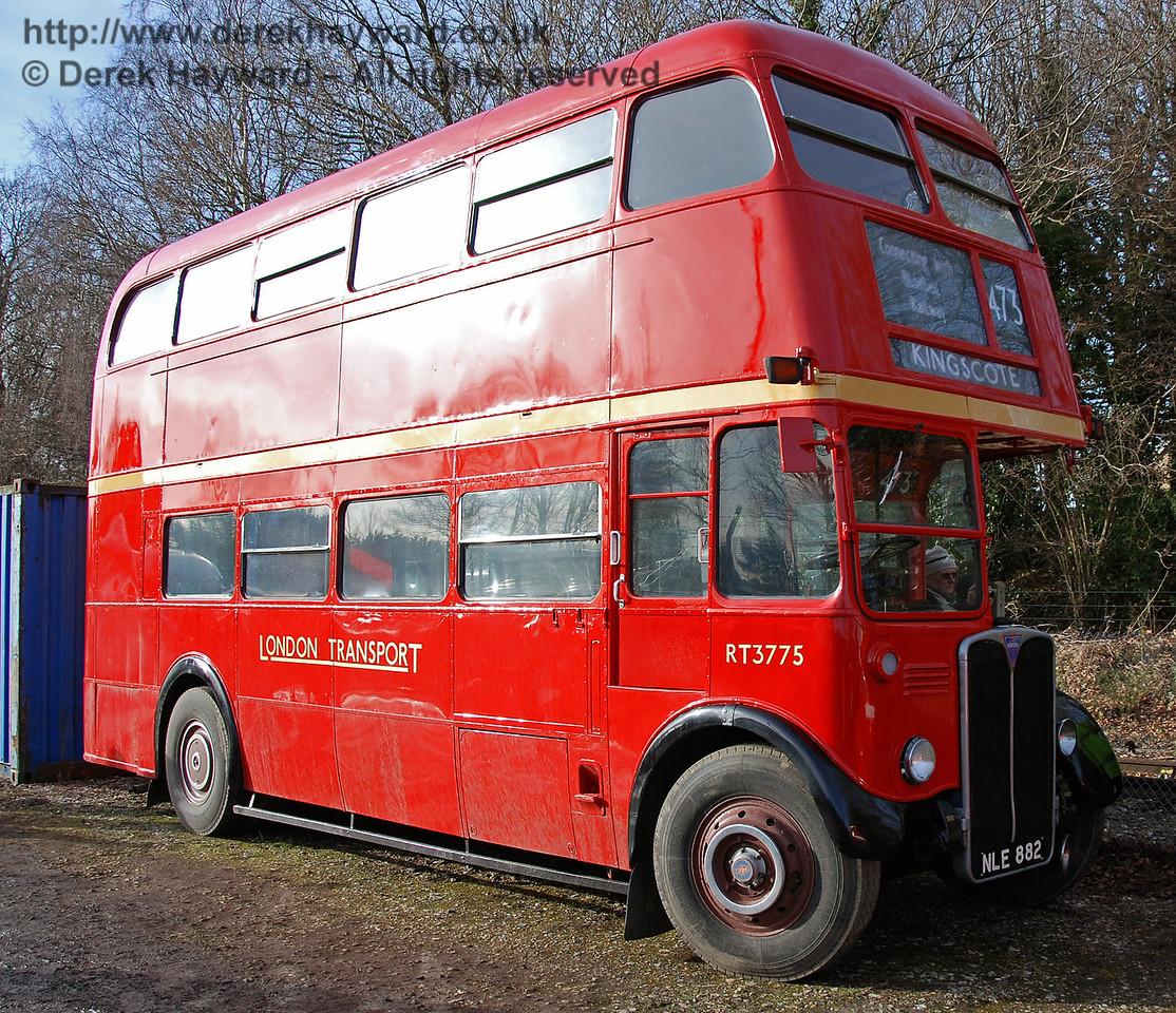 RT3775, East Grinstead, 17.01.2009