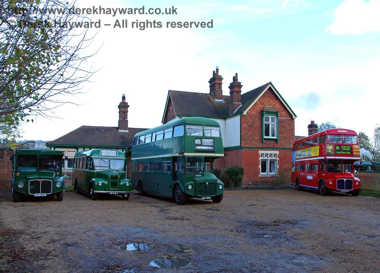 Bus Running Day, Kingscote, 15.11.2009