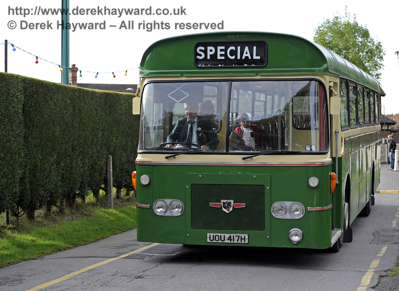 Bluebell Railway Bus Running Day, Sheffield Park, 05.10.2014  10072