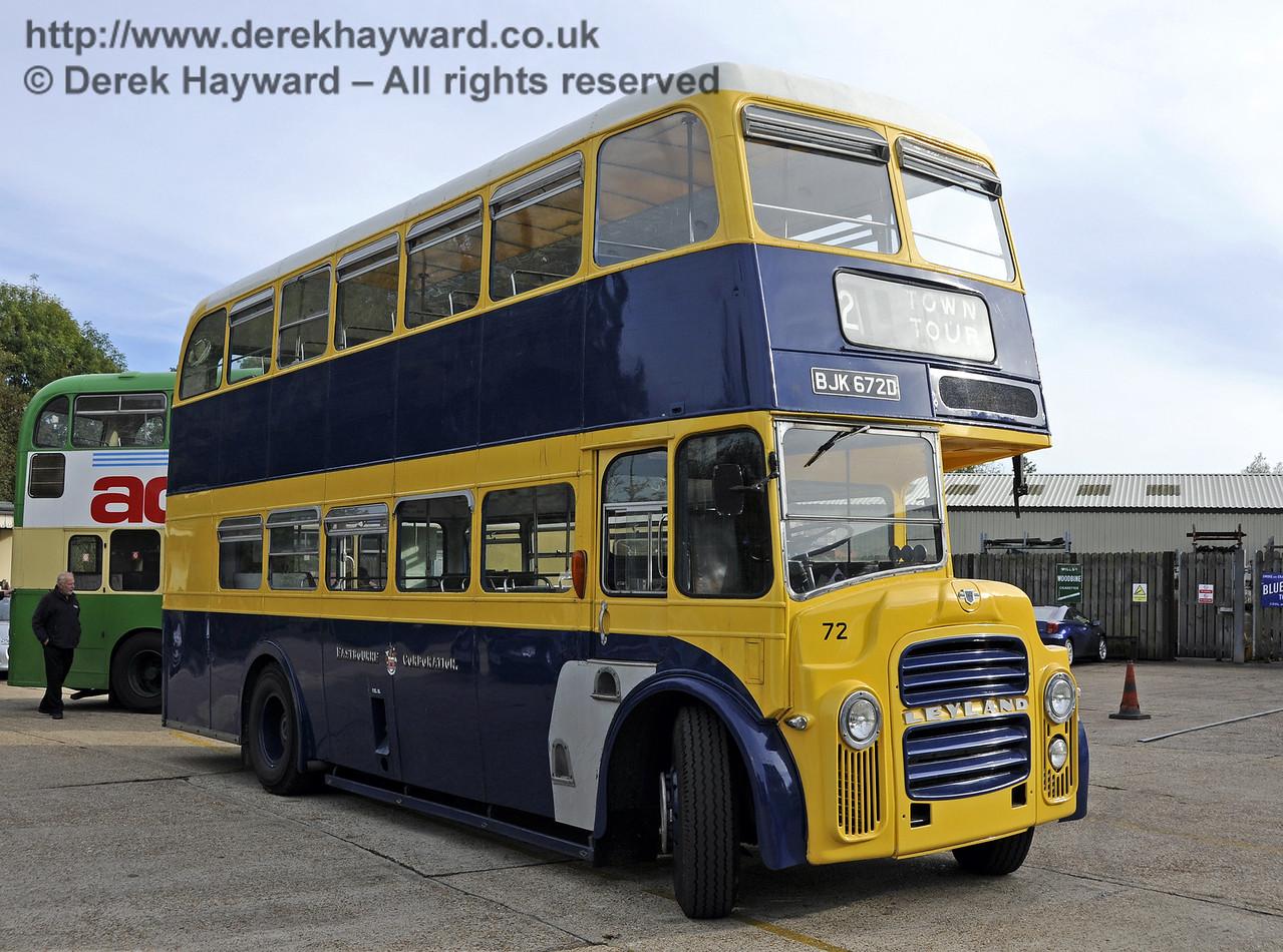 Bluebell Railway Bus Running Day, Sheffield Park, 05.10.2014  11660