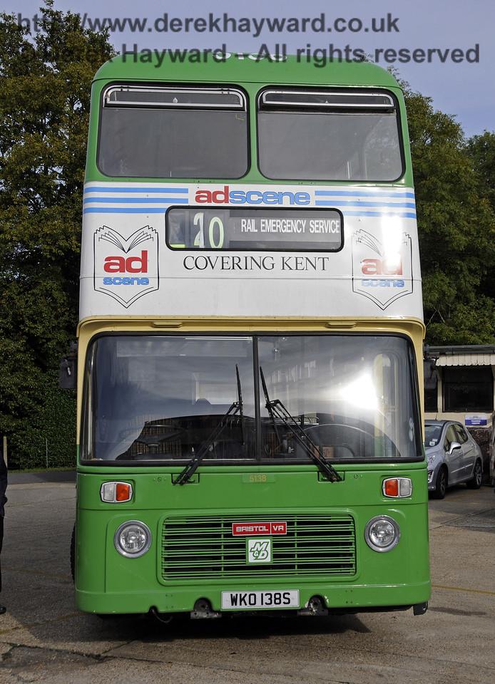 Bluebell Railway Bus Running Day, Sheffield Park, 05.10.2014  11663