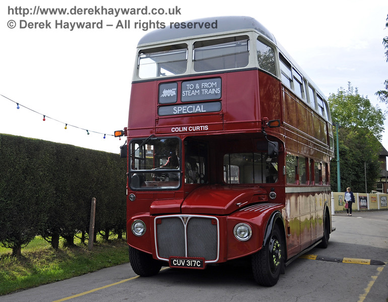 Bluebell Railway Bus Running Day, Sheffield Park, 05.10.2014  11651