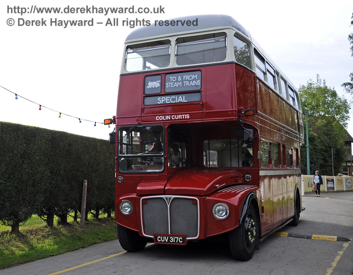 Bluebell Railway Bus Running Day, Sheffield Park, 05.10.2014  11651