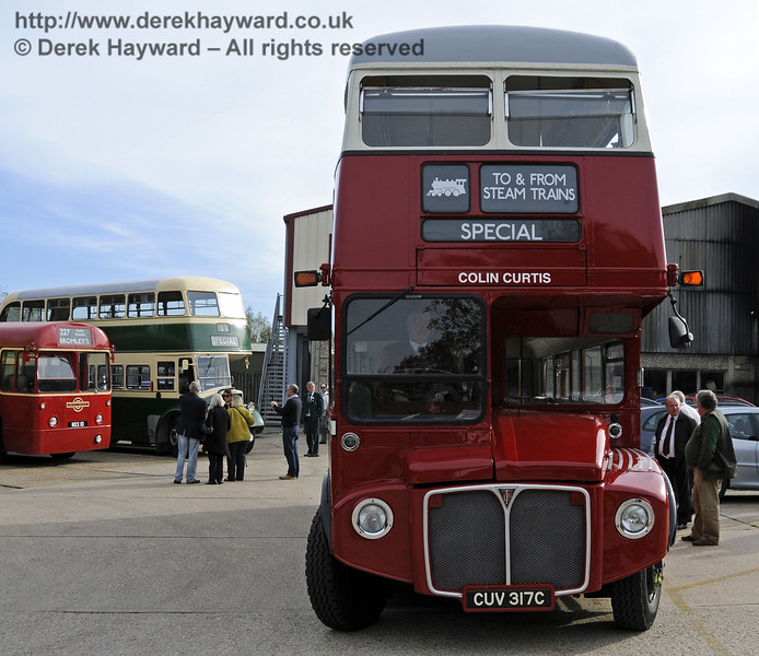 Bluebell Railway Bus Running Day, Sheffield Park, 05.10.2014  11646