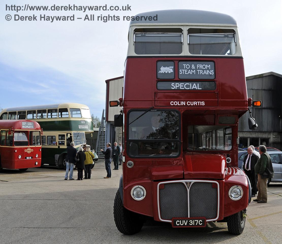 Bluebell Railway Bus Running Day, Sheffield Park, 05.10.2014  11646