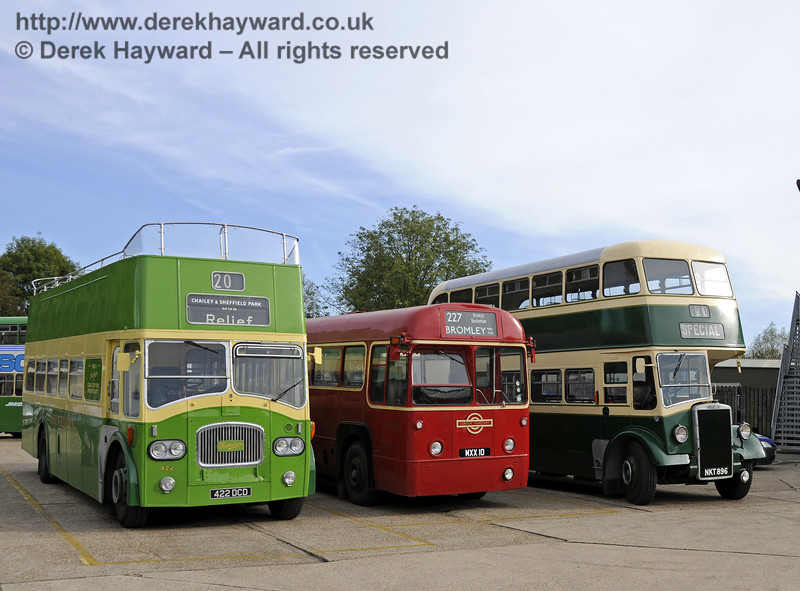 Bluebell Railway Bus Running Day, Sheffield Park, 05.10.2014  11654