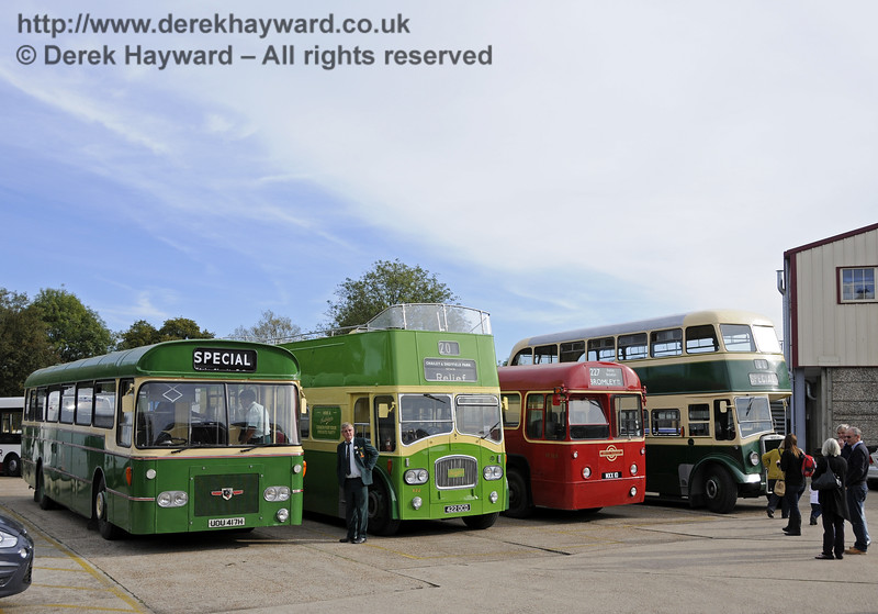 Bluebell Railway Bus Running Day, Sheffield Park, 05.10.2014  11648