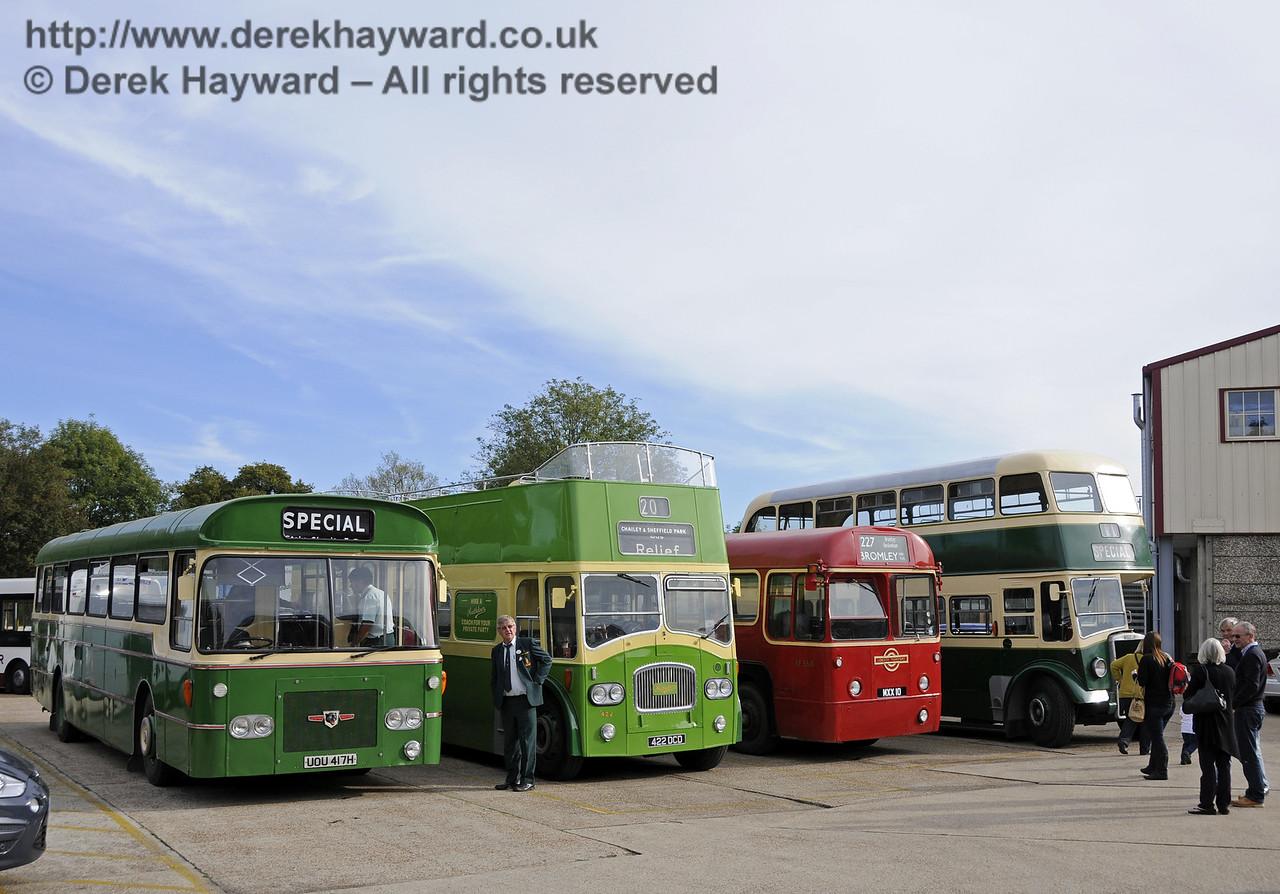 Bluebell Railway Bus Running Day, Sheffield Park, 05.10.2014  11648