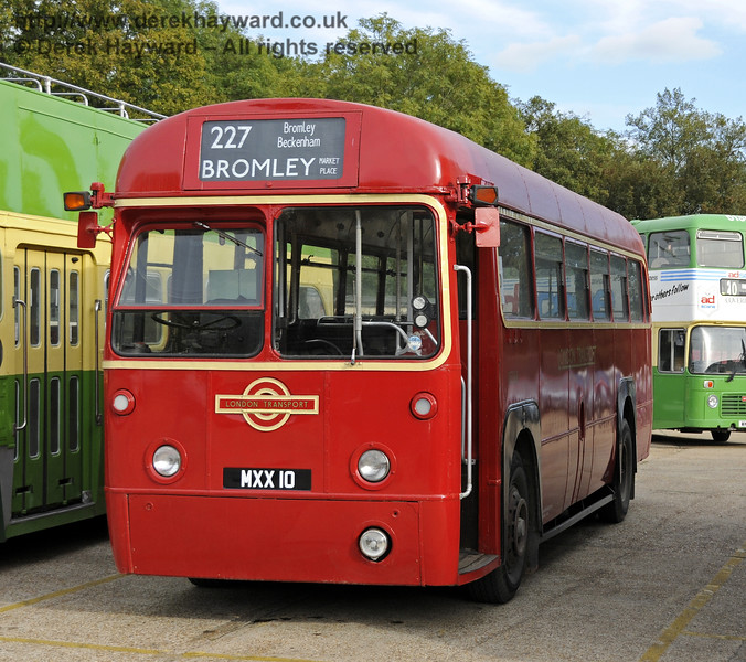 Bluebell Railway Bus Running Day, Sheffield Park, 05.10.2014  11656