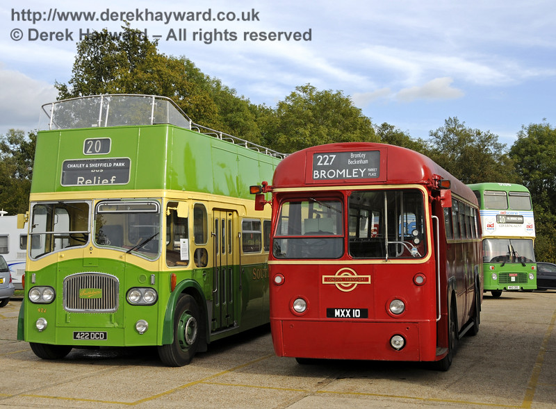 Bluebell Railway Bus Running Day, Sheffield Park, 05.10.2014  11655