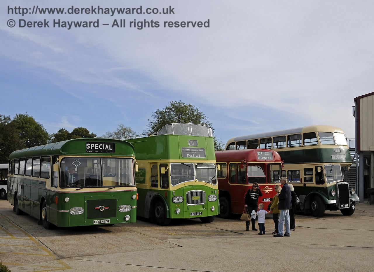 Bluebell Railway Bus Running Day, Sheffield Park, 05.10.2014  11653