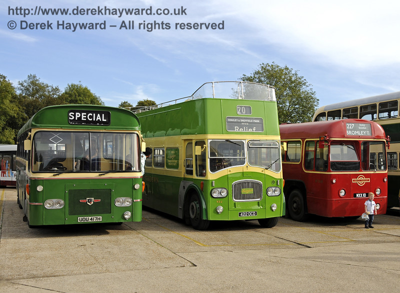 Bluebell Railway Bus Running Day, Sheffield Park, 05.10.2014  11647