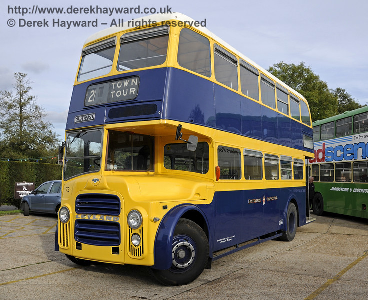 Bluebell Railway Bus Running Day, Sheffield Park, 05.10.2014  11662