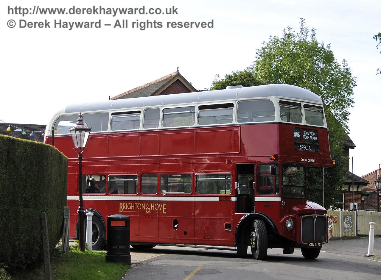 Bluebell Railway Bus Running Day, Sheffield Park, 05.10.2014  11649