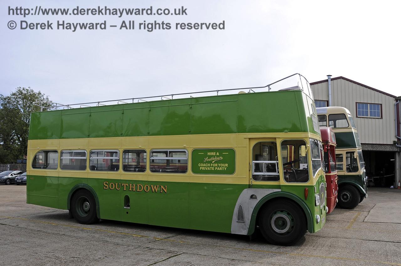 Bluebell Railway Bus Running Day, Sheffield Park, 05.10.2014  11658