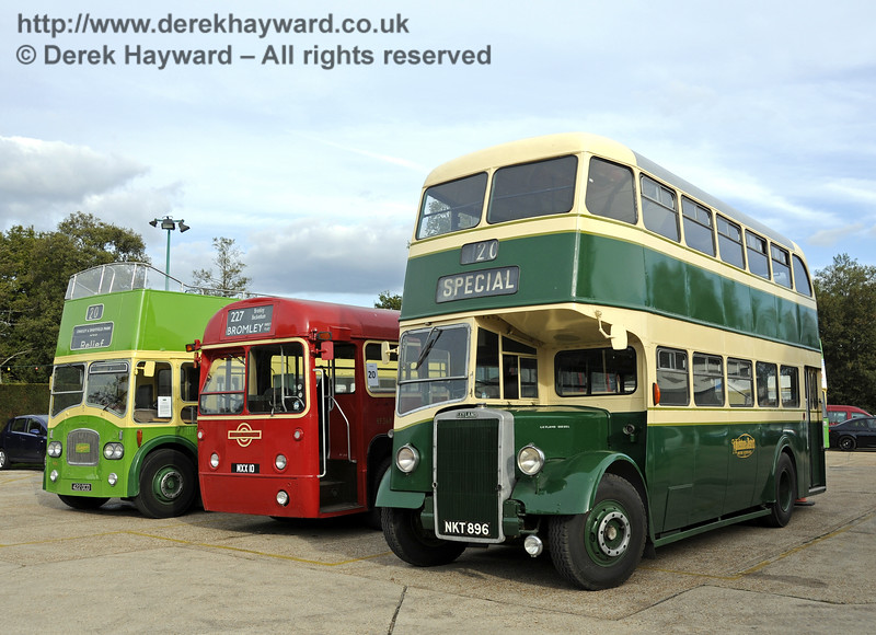 Bluebell Railway Bus Running Day, Sheffield Park, 05.10.2014  11657