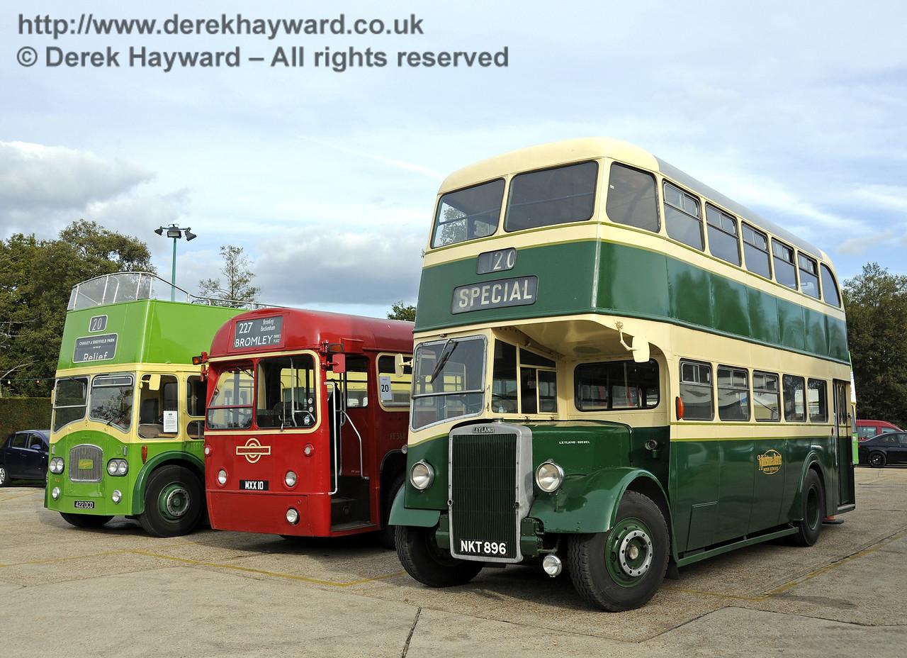 Bluebell Railway Bus Running Day, Sheffield Park, 05.10.2014  11657