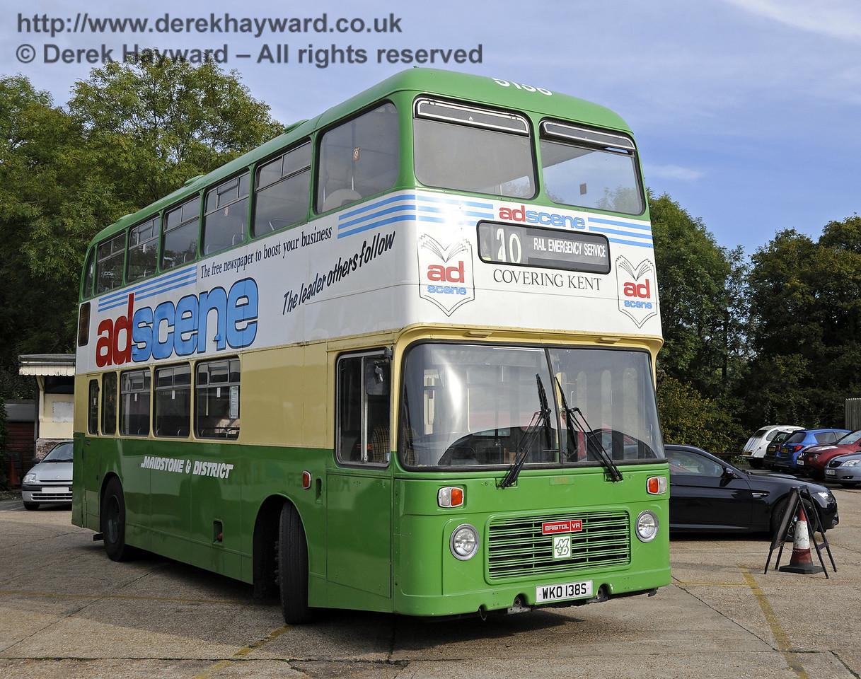 Bluebell Railway Bus Running Day, Sheffield Park, 05.10.2014  11644