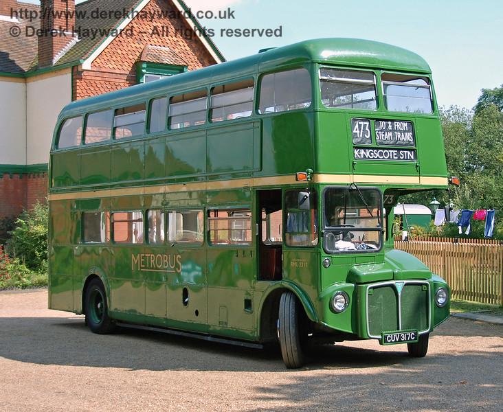 RML2317, Kingscote, 11.08.2007