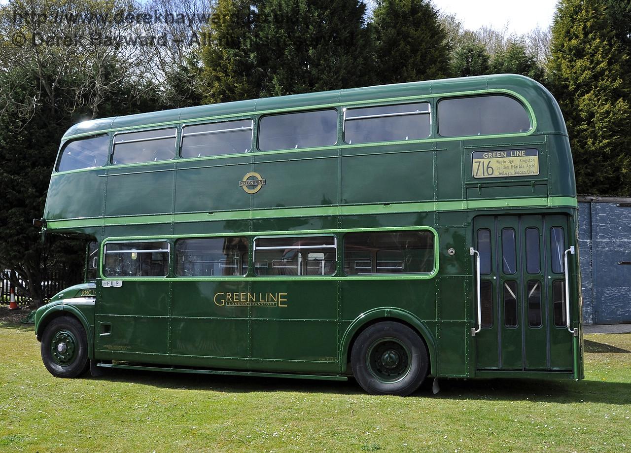 Bus Running Day, Kingscote, 15.04.2012  4405
