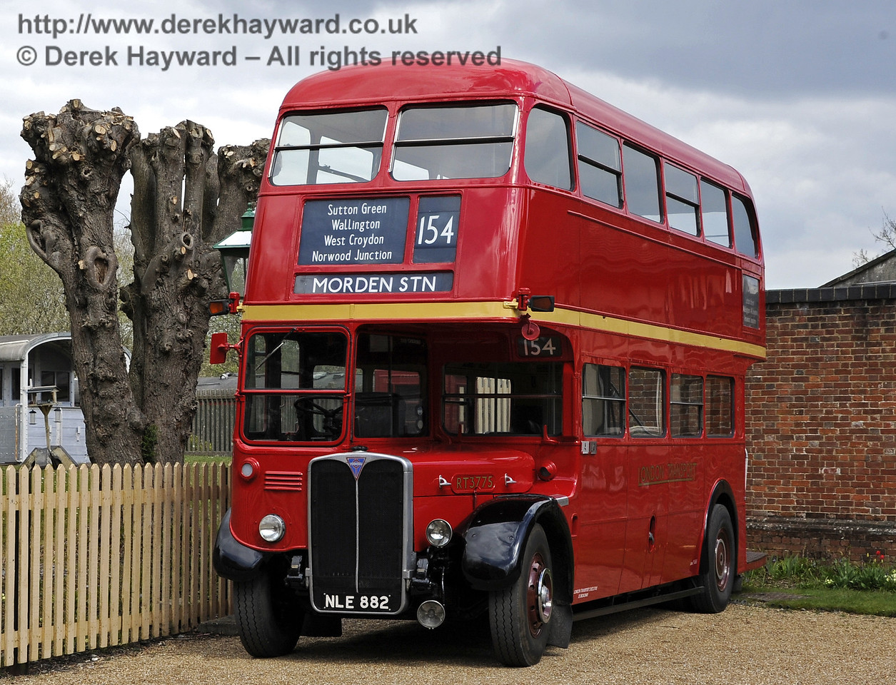 RT3775, Bus Running Day, Kingscote, 15.04.2012  4381