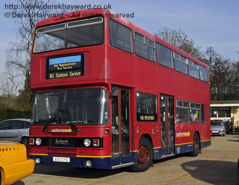 Rail Replacement Bus, Sheffield Park, 25.03.2012  4153