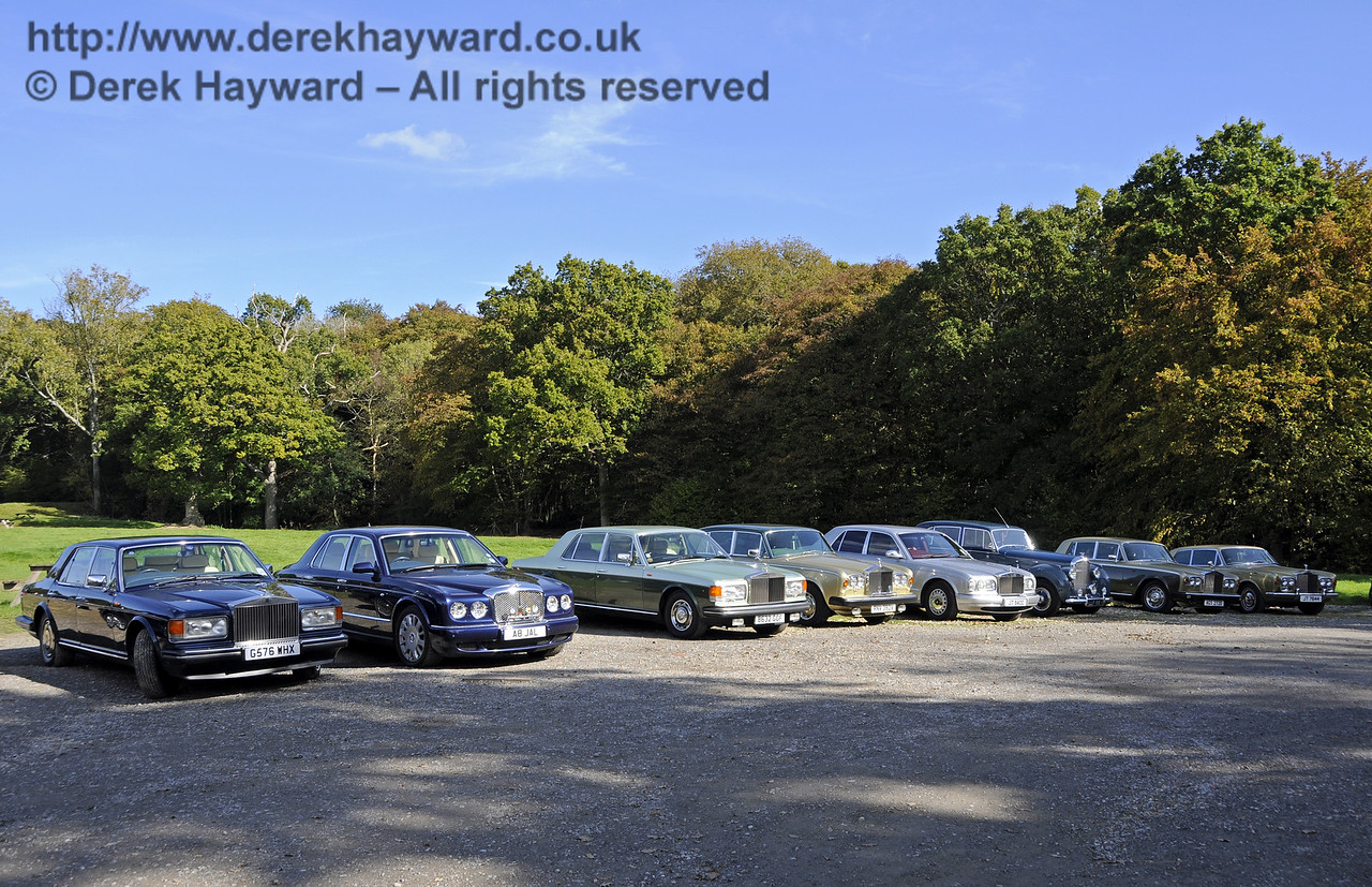 Rolls Royce Owners Club, Horsted Keynes, 05.10.2014  11627
